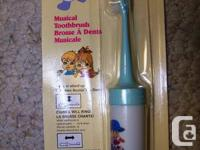 """Musical ToothBrush"" -- Educational Toy"