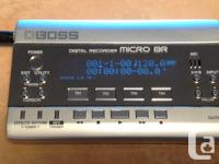Boss Micro BR Digital 4 Track Recorder AC Adaptor User