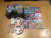 3 month old Nintendo Wii U 32GB deluxe bundle. It comes