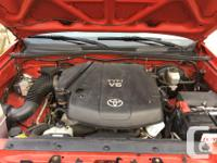 Make Toyota Model Tacoma Year 2005 Colour Red kms