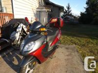 >> MUST SELL or TRADE << 2012 49cc. SAGA MOTOR SCOOTER,