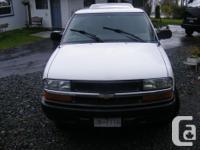 Make Chevrolet Model S-10 Year 2002 Colour white kms