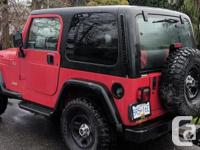 Make Jeep Year 1997 Colour Red kms 252262 Trans Manual