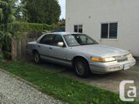 Make Mercury Model Grand Marquis Year 1992 Colour grey