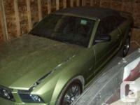 Make Ford Model Mustang Year 2005 Colour Green kms