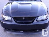 MUSTANG GT 2001 CONVERTIBLE 180,000 KM  TRIPLE BLACK