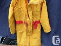 For sale is Mustang survival suit (MS-475) size men's