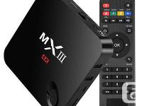 mx3 fully loaded Kodi (xbmc) 4k Quad core android 4.4