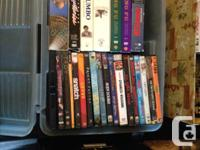 I am selling my entire movie dvd collection. Action,