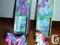 PICTURE 1: MY LITTLE PONY - two vintage ponies with
