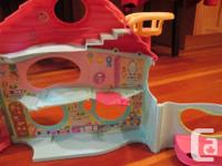 A little mansion for all of your little pets that