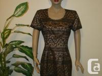 worn ones, Designer Dress by * MY MICHELLE * vtg Party