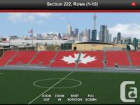 Looking to trade a pair of TFC tickets for any home