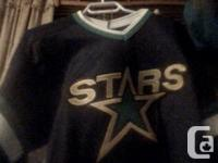 Hockey jerseys, some of been worn two or three times
