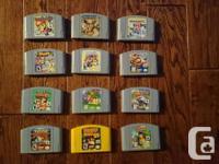 Mario Party 1 - $50. Mario Event 2 - $45. Mario Event 3