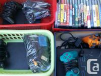 I have 3 ps2 consoles regarding 25 games some memory