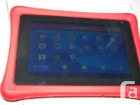 This a tablet specifically designed with kids in mind.