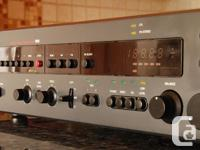 An attractive NAD preamplifier Tuner. Amazing Phono