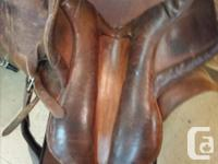 NAHUEL Saddle for Sale Decent condition, Has some wear