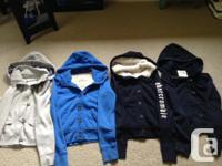 LULULEMON: Grey striped zip up - Size 4 - $40