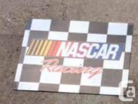 Have 4 racing signs $10 each call  to pick up or will