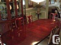 American Drew Solid Lumber Dining Space Collection.