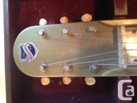 1948 National Dynamic Lap Steel Guitar. Appraised at