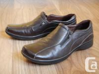 "Naturalizer ""Astern"" loafer shoes in brown smooth"