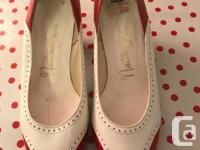 Beautiful ladies shoes bought from Woodwards in the