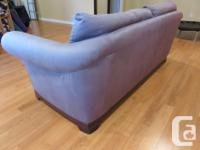 Large comfortable sofa, Italian made by Natuzzi. Deep
