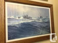 HMCS Montreal - Gunter Sherrer print - $50.00 HMCS