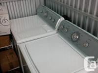 Maytag Centennial washer and clothes dryer established