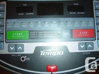 "Tempo brand,hardly used and in ""as new"" condition. Paid"