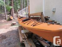 The Amaruk kayak is famous for being a dependable low