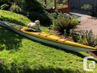 Great condition 16' Necky Elaho Kayak. Fibreglass. I am