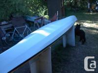 02 Necky Pinta FG kayak, 18 ft long, 26 in wide, 36x19