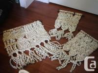 Here is that oh so groovy macrame wall art collection