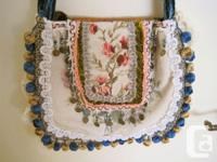 Offering a gorgeous hand crafted (one of a kind)
