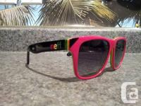Up for sale are a pair of NEFF Thunder Rasta