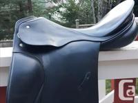 Beautiful Hannover Dressage saddle for sale, excellent