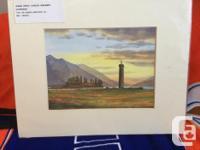 Scottish Artists Ed Hunter - LOCH LOMOND FROM DUNCRYNE