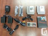 Up for grabs below is just what's left of my NES/SNES