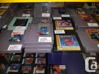 We have a few hundred NES games to currently choose