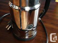 I am selling my Nespresso Aeroccino milk frother, in