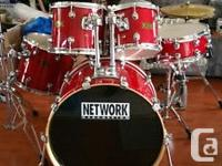 I have for sale a Network Drum kit that has been hardly