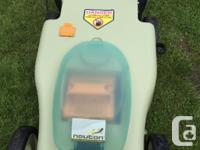neuton model : EM5.1 battery powered lawn more
