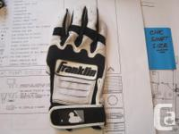 Never used right hand batting gloves, all medium sizes