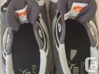 BRAND NEW Men's Size 10 PUMA Runners GREY/SILVER In