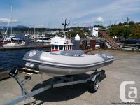 New Gpboats 11' Double Hull fiberglaas RIB inflatable