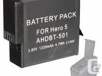 Replacement New 1220mAh 3.85V AHDBT-501 Battery for